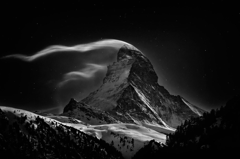 A Portrait of the Matterhorn